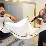 Babero Barbero: ¡atrapa Vellos Al Afeitarte La Barba!