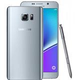 Smartphone Samsung Galaxy Note 5 32gb 16mp Prata (vitrine)