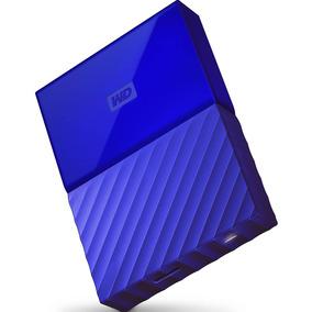 Hd Externo 2tb Wd My Passport Azul Usb 3.0 Wdbyft0020bbl