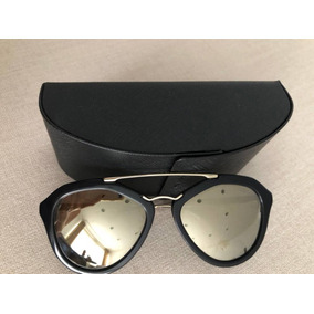 Oculos Espelhado Prada De Sol - Óculos, Usado no Mercado Livre Brasil a1c942041f
