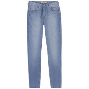 f68cb60a0 Calça Skinny Feminina - Calças Hering Calças Jeans Azul no Mercado ...