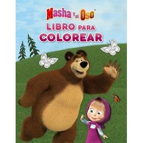Libros Para Colorear Masha Y El Oso En Mercado Libre México