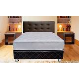 Dormitorio + Box. 2plz Colchón Ortopedico Corona D