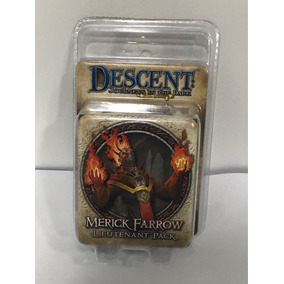 Descent 2nd Merick Farrow Lieutenant Pack