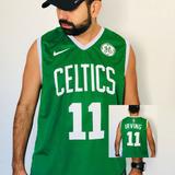 Regata Celtics Basquete Camisa Camiseta Irving Promoção Star