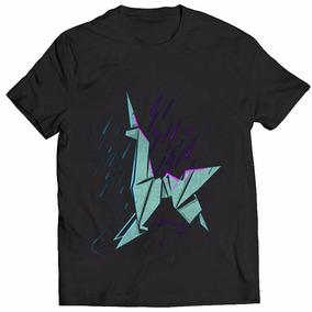 a17976ac1e0d8 Origami - Camisetas e Blusas no Mercado Livre Brasil