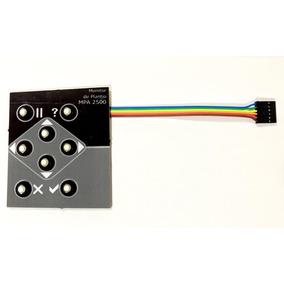 Teclado Compatível Para Reposição Monitor Mpa 2500 Auteq