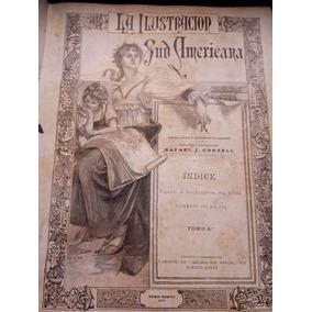 Libro Antiguo La Ilustracion Sudamericana Año 1898