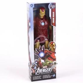 Boneco Homem De Ferro Marvel Tamanho 31cm Articulado Frete G