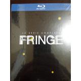 Blu Ray Box Fringe A Coleção Completa Lacrado 20 Discos