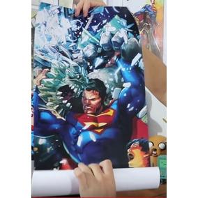 Poster Fan Box Dc Comics - Superman
