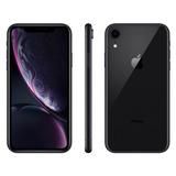 iPhone Xr Apple 64gb Preto 4g Tela 6,1 Retina-câmera 12mp