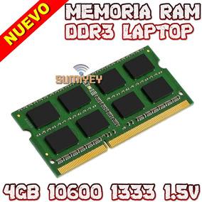 #40 Memoria 4gb Ddr3 1333mhz Pc3-10600 1.5v Cl=9 Sodimm