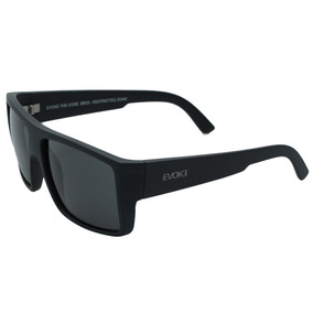 Oculos De Sol Evoke The Code Preto Fosco    - Óculos no Mercado ... 49d47b9e92