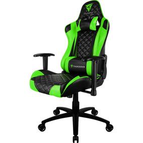 Cadeira Gamer Thunder X3 Tgc12 Reclinável Verde Thunderx3