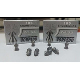 Kit 7 Cx Chumbinho Torpedo 5,5 Mm + 7 Cx Torpedo 4.5 Mm