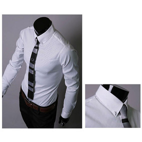 Camisa Masculina Social Slim Pronta Entrega Importada