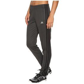 Pantalón adidas Pista T10 Gris Oscuro Talla M Mujer