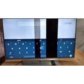 Tv Led Smart Slim Uhd 4k Com Android Tela Com Defeito 50 Pol