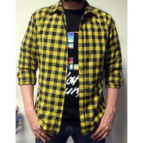 De Label Leñadora Hombre Cuadros Camisa A Rebel gtYxwgFdq