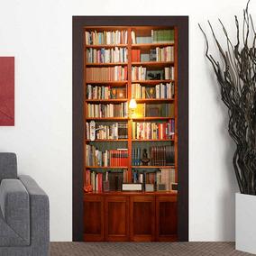 Casefan 3d Librero Puerta Mural De La Pared Pegatinas De Vi
