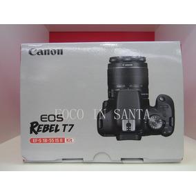 Camera Canon T7 C\18-55mm Is Ii Pronto / Revenda Autorizada