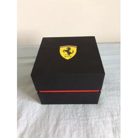 Relogio Scuderia Ferrari Com Nota Fiscal Original