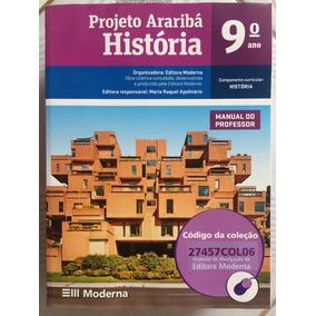 Livro De História 9º Ano Projeto Araribá