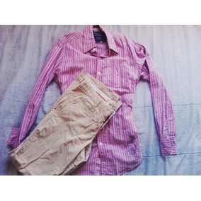Camisa American Eagle + Khakis Old Navy (xs)