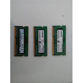 Memorias Ddr3 De 2gb Laptop Y Minilaptop, En5($) Usadas.