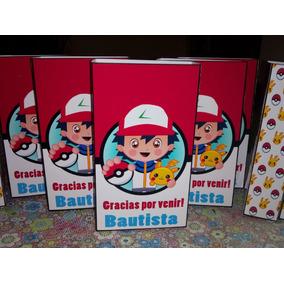 111db466e Kit Fiesta Pokemon - Souvenirs para Cumpleaños Infantiles Bolsitas ...