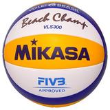Bola Oficial Vôlei Praia Voleibol Mikasa Vls300 Original