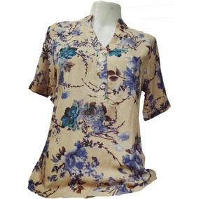 Camisa Polo Feminina Amarela Manga Curta Feminino - Camisas no ... 806900657b18a