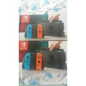 Nintendo Switch Novo Na Caixa + Pokemon Let