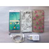 Samsung Galaxy J5 Metal Dourado 16gb Lindo + Capinhas!!!!