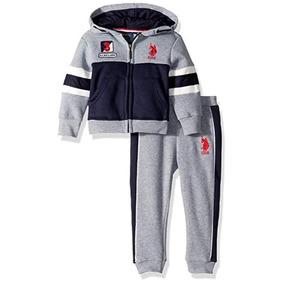 Pants Con Forro Polar Para Niños U.s. Polo Assn. Juego De