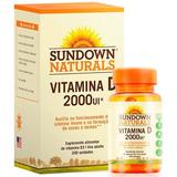 Vitamina D 2000 Ui Sundown 200 Cápsulas D3 Imunidade Ossos