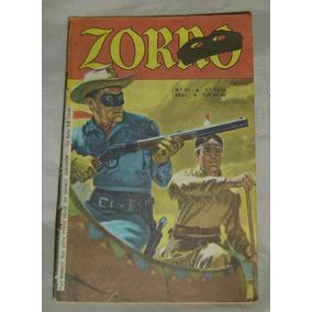 Gibi Zorro Nº67 - Ebal - 1ª Série - Junho De 1982.