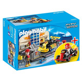 Playmobil 6869 Garage De Go Karts 70 Pzas Nuevo Envio Gratis