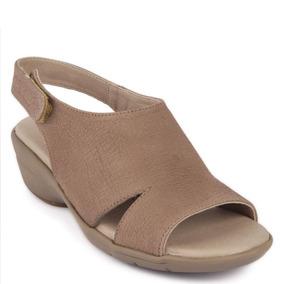 Sandalia Long Steps 16 Hrs Mujer Camel - M646