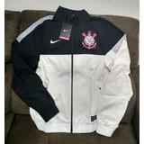 Jaqueta Corinthians Nike Original Mundial 2012 Branca Preta a5bb99cf63041