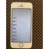 Iphone 5s Plata 16 Gb Excelente Estado Y Funcionamiento