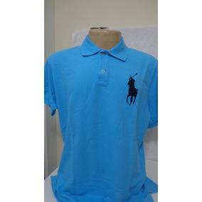 Camisa Polo By Ralph Lauren Azul Bebe Tamanho Ggg- 13a173a032f31