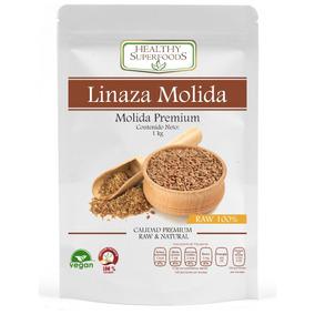 Linaza Molida Organica 1 Kg