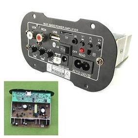 Amplificador De Potência Board Tf Bluetooth