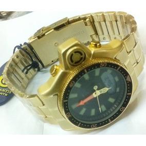 32cf04f0b69 Relogio Atlantis Gold A3173 Ouro Masculino - Relógios De Pulso no ...
