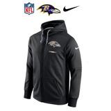 Lima. Casaca Nfl Baltimore Ravens Con Capucha Nueva Original eefc668b26f5d