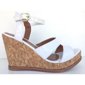 efd24e348f Tamanco Anabela Salto Rolha - Sapatos no Mercado Livre Brasil