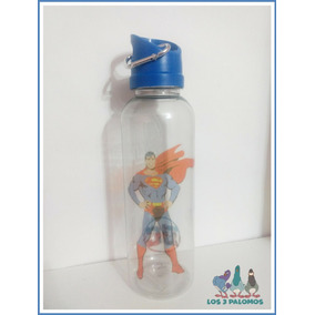 Botella Plastica Superman Dc Comics