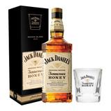 Whisky Jack Daniels Honey +1 Vaso C/estuche Envio Sin Cargo!